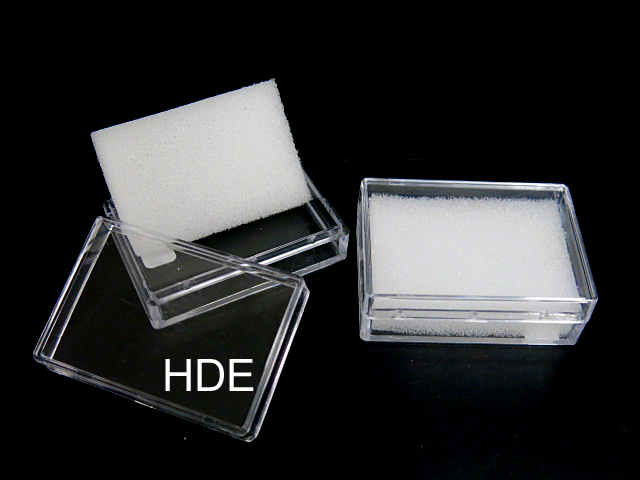 kunststoff box rechteckig glasklar edelsteindosen klarsichtdosen aus kunststoff. Black Bedroom Furniture Sets. Home Design Ideas